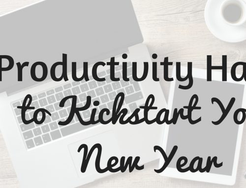 Productivity Hacks for a Fantastic 2016